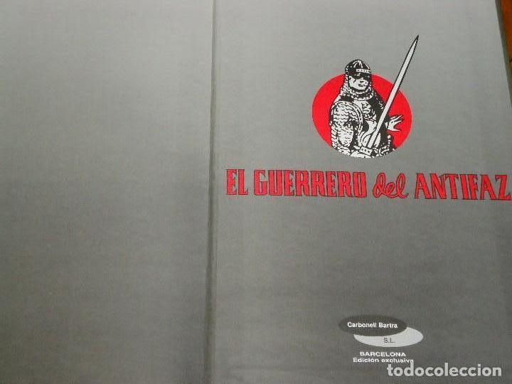 Tebeos: COLECCION COMPLETA DEL GUERRERO DEL ANTIFAZ 34 TOMOS A COLOR NUEVA - Foto 4 - 97264675