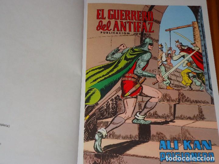 Tebeos: COLECCION COMPLETA DEL GUERRERO DEL ANTIFAZ 34 TOMOS A COLOR NUEVA - Foto 5 - 97264675