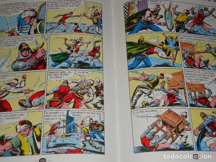 Tebeos: COLECCION COMPLETA DEL GUERRERO DEL ANTIFAZ 34 TOMOS A COLOR NUEVA - Foto 6 - 97264675