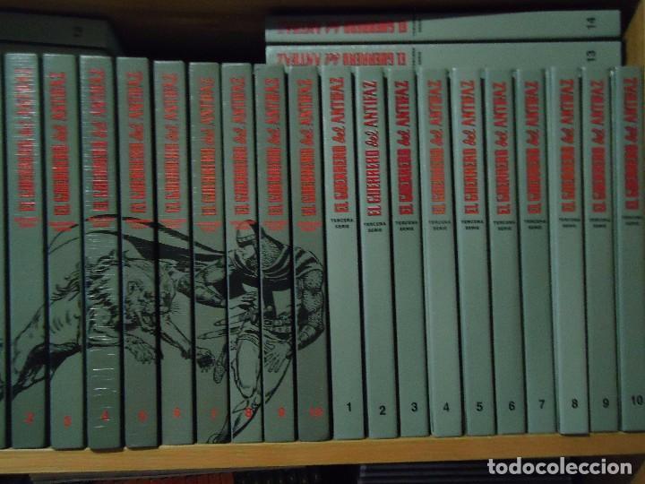 Tebeos: COLECCION COMPLETA DEL GUERRERO DEL ANTIFAZ 34 TOMOS A COLOR NUEVA - Foto 9 - 97264675