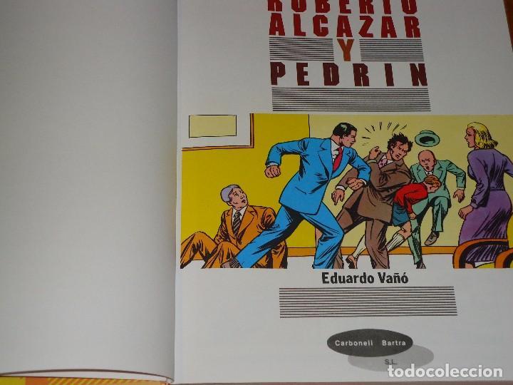 Tebeos: COLECCION COMPLETA DE ROBERTO ALCAZAR Y PEDRIN 18 TOMOS NUEVOS - Foto 2 - 97268667