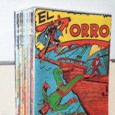 Giornalini: EL ZORRO COMPLETA 25 NUM. MAS EXTRAORDINARIO DE 1957 - FERMA REEDICION. Lote 137694413