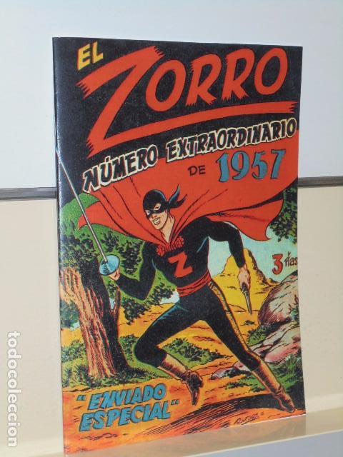 Tebeos: EL ZORRO 25 NUMEROS MAS EXTRAORDINARIO DE 1957 - EXCLUSIVAS FERMA - - Foto 4 - 97796987