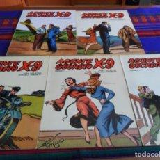 Tebeos: AGENTE SECRETO X-9 X9 X 9 VOLUMEN NºS 2 3 4 5 7. EDICIONES BO 1979. RÚSTICA. BUEN ESTADO.. Lote 98868191