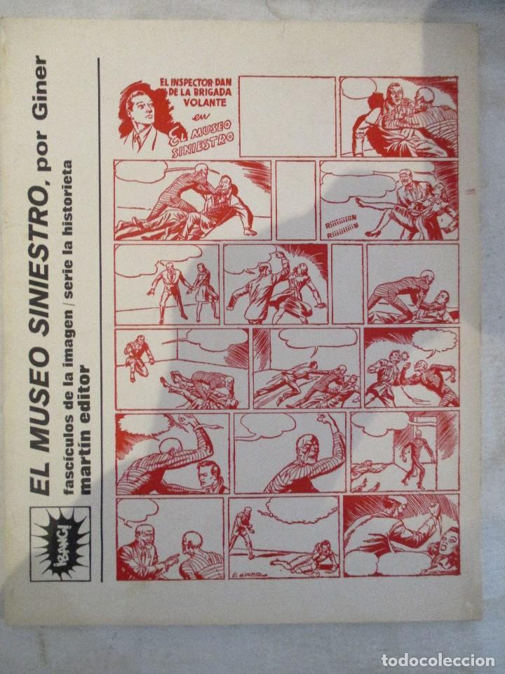 COMIC COLECCION SERIE AUTORES ESPAÑOLES EUGENIO GINER INSPECTOR DAN EL MUSEO SINIESTRO CAH (Tebeos y Comics - Tebeos Reediciones)