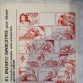 Lote 99159875: COMIC COLECCION SERIE AUTORES ESPAÑOLES EUGENIO GINER INSPECTOR DAN EL MUSEO SINIESTRO CAH
