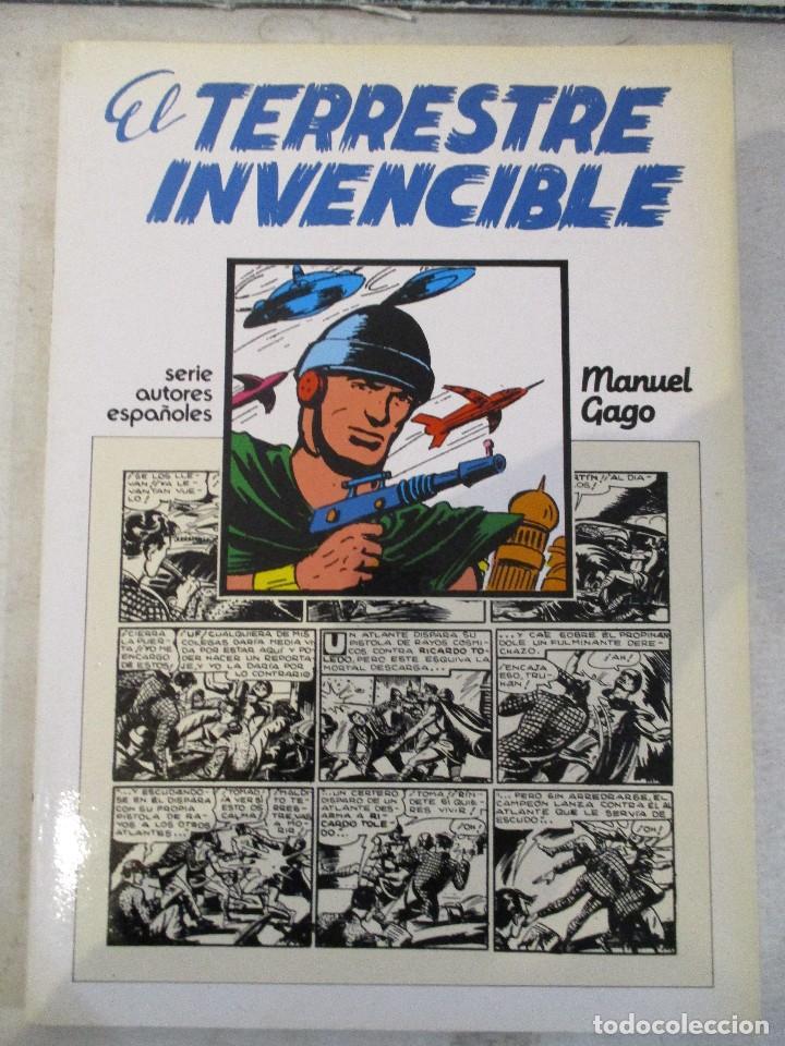 EL TERRESTRE INVENCIBLE MANUEL GAGO CAH AUTORES ESPAÑOLES (Tebeos y Comics - Tebeos Reediciones)