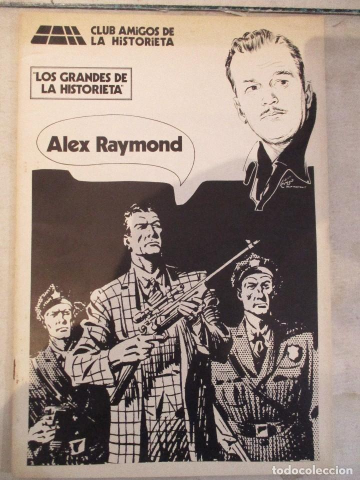 ALEX RAYMOND MONOGRAFICO LOS GRANDES DE LA HISTORIETA CAH (Tebeos y Comics - Tebeos Reediciones)