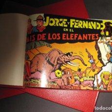 Tebeos: JORGE Y FERNANDO. FACSÍMIL. SON LOS 56 PRIMEROS NÚMEROS... Lote 99229919