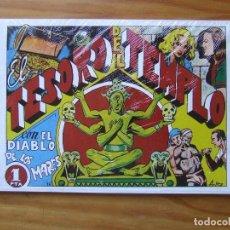 BDs: LOTE 6 REVISTAS EL DIABLO DE LOS MARES. REEDICIÓN FACSÍMIL. Lote 99273491