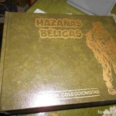 Tebeos: HAZAÑAS BELICAS.EDICION COLECCIONISTAS. TOMOS Nº 1 AL 10. Lote 100365195