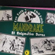 Tebeos: MANDRAKE,EL ENIGMÁTICO DAVOS,Nº6. Lote 101476591