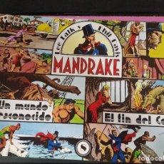 Tebeos: MANDRAKE,UN MUNDO DESCONOCIDO. EL FIN DEL COBRA,Nº8. Lote 101476783