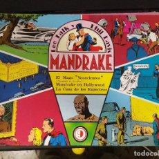 Tebeos: MANDRAKE,EL MAGO NOVECIENTOS,MANDRAKE EN HOLLYWOOD,LA CASA DE LOS ESPECTROS,Nº9. Lote 101477147