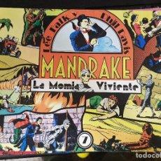 Tebeos: MANDRAKE,LA MOMIA VIVIENTE. Lote 101477235