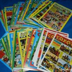 Tebeos: (M6) EL COYOTE DEL 1 AL 75 CON LOS ALMANAQUES , COMPLETA , BUEN ESTADO. Lote 102345711