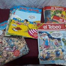 Tebeos: LOTE DE TEBEOS... 17 DE EL TEBEO Y 21 DE GENTE MENUDA. Lote 102518467