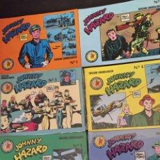 Giornalini: COMICS JOHNNY HAZARD. EDICIONES ESEUVE. COMPLETA. 1990. MUY BUEN ESTADO, ALGUNOS PRECINTADOS. Lote 104707694