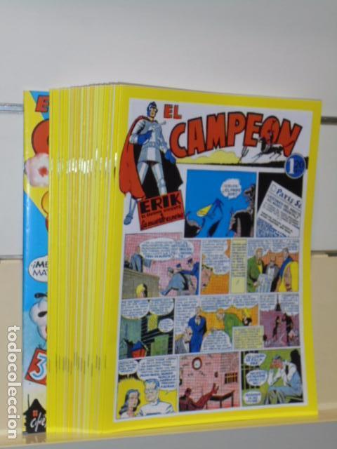 EL CAMPEON COMPLETA 20 NUMEROS MAS ALMANAQUE PARA 1949 REEDICION - BRUGUERA - JC (Tebeos y Comics - Tebeos Reediciones)