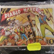 Tebeos: EL DIABLO DE LOS MARES 68 NÚMEROS COMPLETA. Lote 104889531