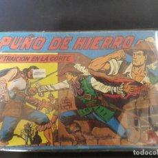 Tebeos: PUÑO DE HIERRO 35 NÚMEROS(ORDINARIOS COMPLETA). Lote 104890279