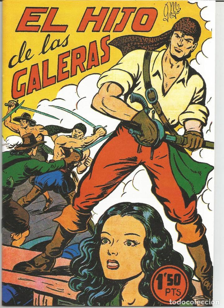 EL HIJO DE LAS GALERAS COMPLETA REEDICIÓN 16 Nº CON ESTUCHE (Tebeos y Comics - Tebeos Reediciones)