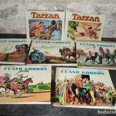 Tebeos: LOTE DE FLASH GORDON Y TARZAN EN REEDICION,( ALGUNO CON FOTOMECANICA ). Lote 104995311
