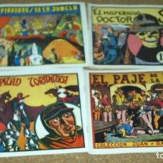 Tebeos: LOTE DE 4 TEBEOS AVENTURERA - VALENCIANA AÑOS 40 - REEDICION DE LOS 80. VER TITULOS Y FOTOS. Lote 105665963