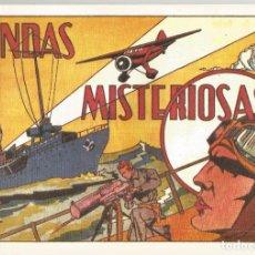 Tebeos: SELECCIÓN AVENTURERA EDITORIAL VALENCIANA ONDAS MISTERIOSAS Nº 27 CUADERNO DE REEDICIÓN. Lote 105674747