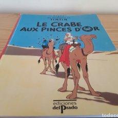 Tebeos: LIBRO TINTÍN EN FRANCÉS, 1989. Lote 106005208