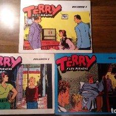 Tebeos: TERRY Y LOS PIRATAS. EDICIONES B.O. VOLUMEN 2, 5 Y 9.. Lote 107377791