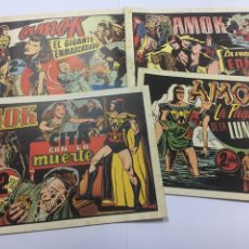 Tebeos: AMOK LOTE. Lote 107389595