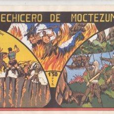 Tebeos: EL HECHICERO DE MOCTEZUMA. REEDICIÓN... Lote 107728455