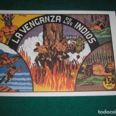 Tebeos: LA VENGANZA DE LOS INDIOS.- COL. EL NIÑO GONZALO. ED- VALENCIANA,. M. GAGO, FACSÍMIL. Lote 131246186