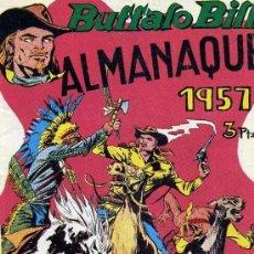 Tebeos: ALMANAQUE BUFFALO BILL 1957 - IMPECABLE - OFM15. Lote 113619055