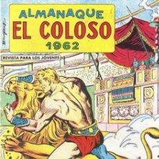 Tebeos: ALMANAQUE EL COLOSO 1962 - NUEVO - OFM15. Lote 175226482