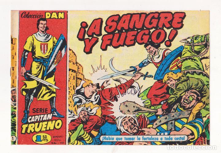 REEDICIÓN - EL CAPITÁN TRUENO - NÚMERO 1: ¡A SANGRE Y FUEGO! - MUY BUEN ESTADO (Tebeos y Comics - Tebeos Reediciones)