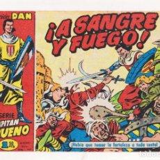 Tebeos: REEDICIÓN - EL CAPITÁN TRUENO - NÚMERO 1: ¡A SANGRE Y FUEGO! - MUY BUEN ESTADO. Lote 113965891