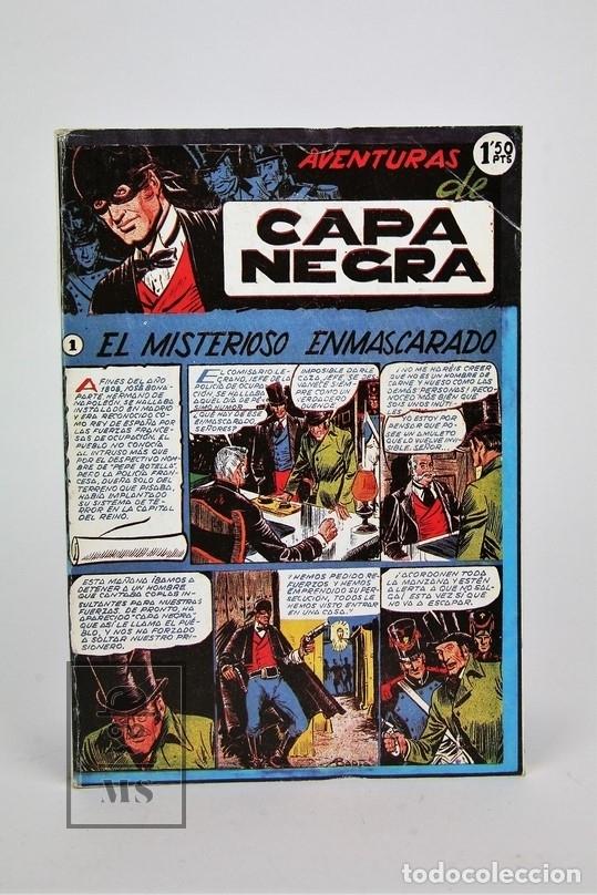 Tebeos: Cómic - Las Aventuras De Capa Negra / 2 Tomos, Completa - Ed. J.L.A - Foto 2 - 115105488