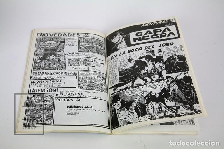 Tebeos: Cómic - Las Aventuras De Capa Negra / 2 Tomos, Completa - Ed. J.L.A - Foto 3 - 115105488