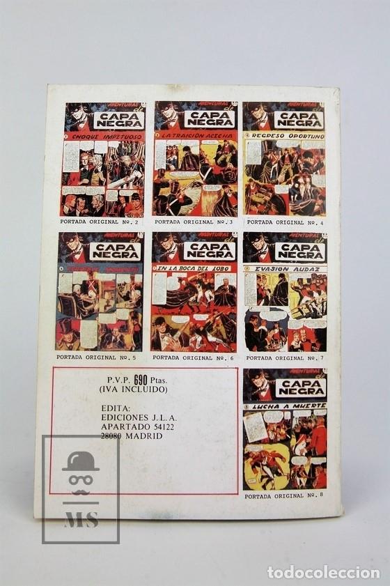 Tebeos: Cómic - Las Aventuras De Capa Negra / 2 Tomos, Completa - Ed. J.L.A - Foto 4 - 115105488