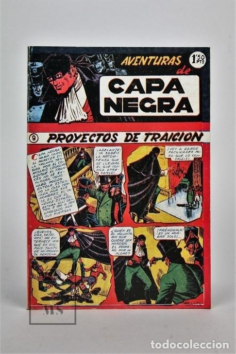 Tebeos: Cómic - Las Aventuras De Capa Negra / 2 Tomos, Completa - Ed. J.L.A - Foto 5 - 115105488