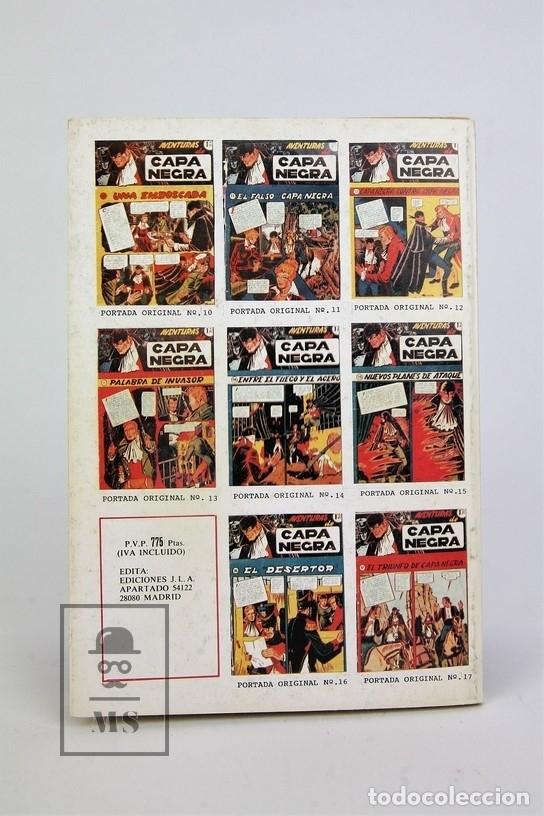 Tebeos: Cómic - Las Aventuras De Capa Negra / 2 Tomos, Completa - Ed. J.L.A - Foto 7 - 115105488