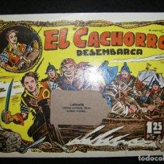 Tebeos: EL CACHORRO, DESEMBARCA, IBERCOMIC, NÚMEROS 34 - 40. Lote 115816831
