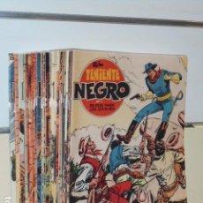 Tebeos: EL TENIENTE NEGRO COMPLETA 30 NUM. - REEDICION. Lote 116066567