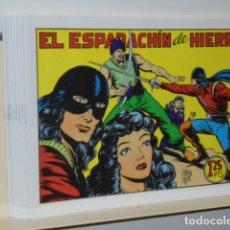 Tebeos: EL ESPADACHIN DE HIERRO COMPLETA 10 NUMS. - REEDICION. Lote 116066819