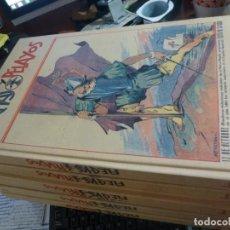 Tebeos: EDICION FACSIMILAR DE FLECHAS Y PELAYOS, 6 TOMOS COMPLETAMENTE NUEVOS, SIN MACULA. Lote 116206603