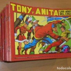 Tebeos: TONY Y ANITA COMPLETA 153 NUMS. REEDICION OFERTA. Lote 116681487