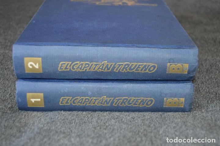 TOMOS 1 Y 2 EL CAPITÁN TRUENO - 1 A 96 /// 1-56 DAN Y 57-96 SUPER AVENTURAS - FACSÍMIL - EDICIONES B (Tebeos y Comics - Tebeos Reediciones)