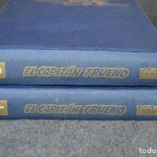 Tebeos: TOMOS 1 Y 2 EL CAPITÁN TRUENO - 1 A 96 /// 1-56 DAN Y 57-96 SUPER AVENTURAS - FACSÍMIL - EDICIONES B. Lote 117111843